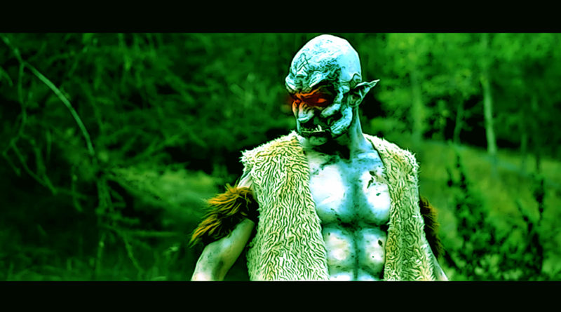 Orc Look makeup timelapse by Dino Olivieri
