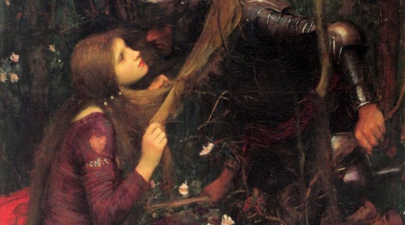 through the silence of the worlds - John William Waterhouse - Woman without Mercy