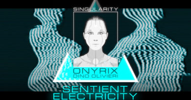 Singularity - Sentient Electricity by Onyrix / Dino Olivieri - electronic synth music